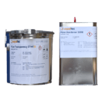 Żywica poliuretanowa przeźroczysta  ST44-10 kg kit