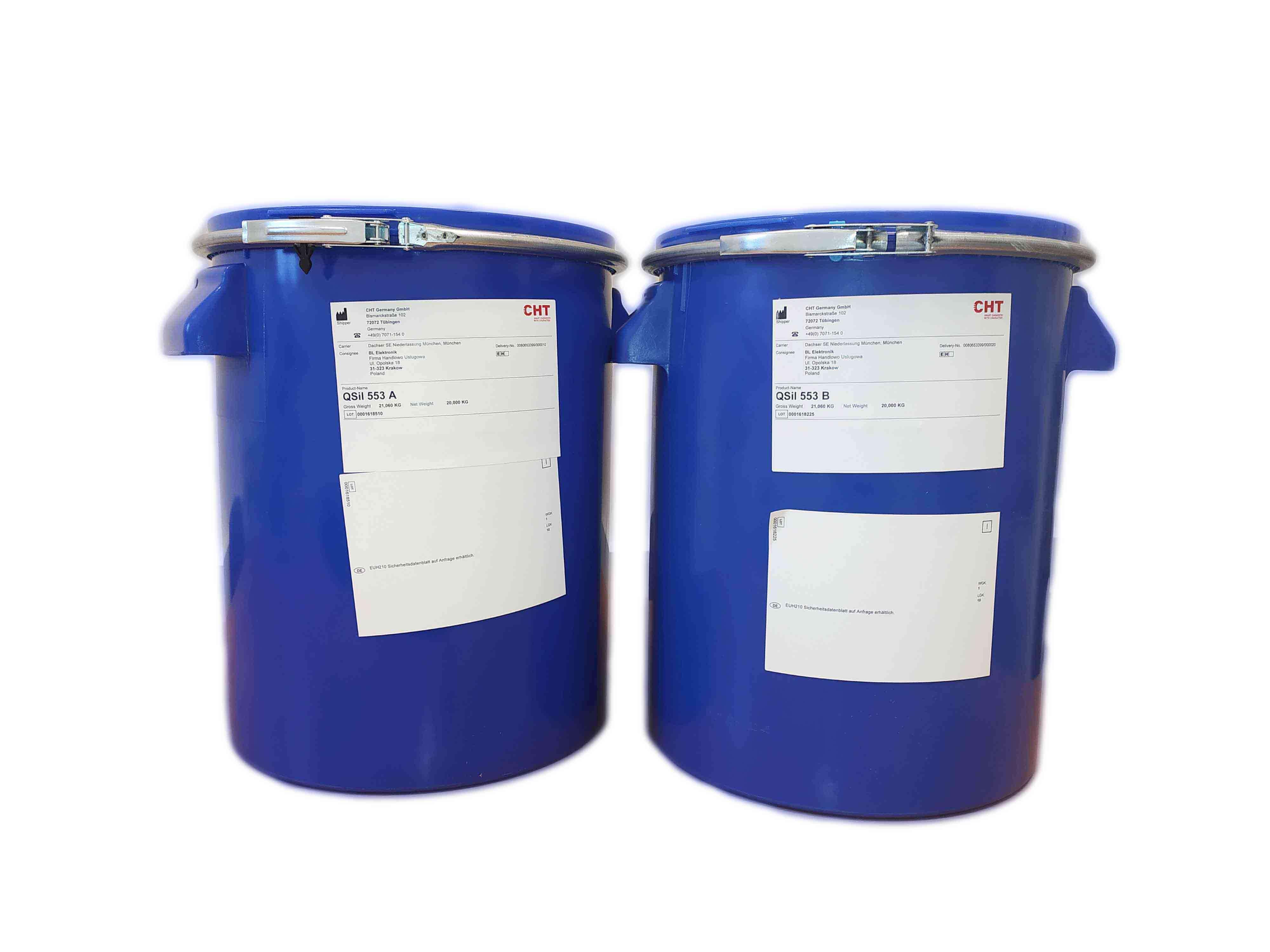 Zalewa silikonowa QSil553 – 40kg kit